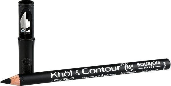 BOURJOIS Paris Khol & Contour Taille Eye Pencil with Sharpener 1.2g 01
