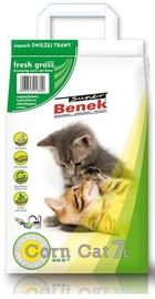 Kaķu pakaiši Super Benek Certech Fresh Grass Corn Cat Litter 7l