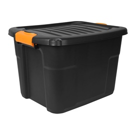 Forte Tools Storage Box 50x33.5x39cm Black