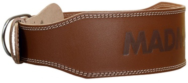 Mad Max Full Leather Belt Natural Brown L