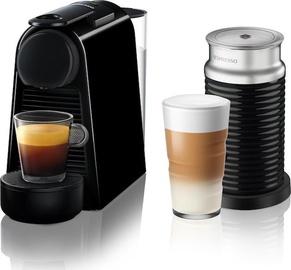 Nespresso Coffee Machine w/ Milk Frother Essenza Mini D30 EN85.B Black