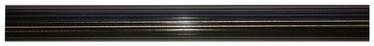 Rievots karnīzes stienis D25, 240cm, zelta