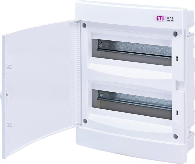 Modulinis skydas ETI ECM24PO-s, 24 modulių, potinkinis, IP40