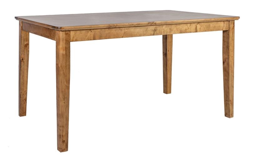 Барный стол Home4you Thomas 11585, коричневый, 1800x1000x920мм