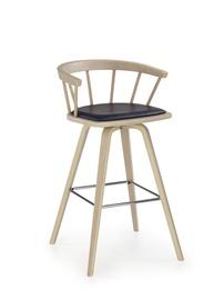 Baro kėdė H78, buko/juoda