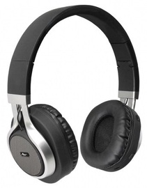 Ausinės ART AP-B04 Bluetooth Headphones w/Microphone Black/Silver