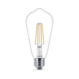 SP. LED ST64 7W E27 827 CL FIL 806LM (PHILIPS)