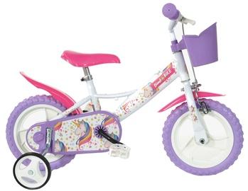 "Vaikiškas dviratis Bimbo Bike 77328 12"" White Violet"