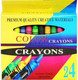 Avatar Crayons Wax 24 Colours
