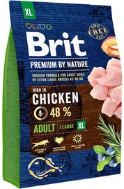 Brit Premium By Nature Adult XL Breed Chicken 3kg