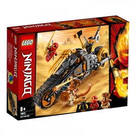 Konstruktorius LEGO®Ninjago 70672 Cole galingasis motociklas