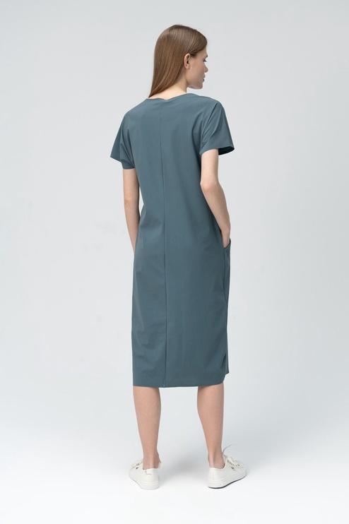 Audimas Light Sensitive Dress Dark Slate S