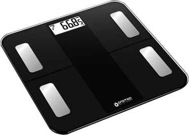ORO-MED Bathroom Scale Bluetooth Black