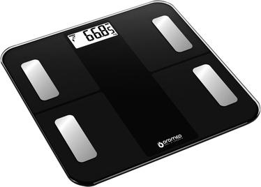 ORO-MED Bathroom Scale Bluetooth Black
