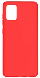 Evelatus Soft Touch Back Case For Samsung Galaxy A71 Red