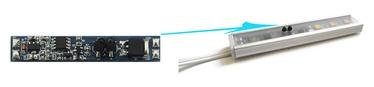 LED juostos valdiklis montuojamas į profilį 12-24V 8A PROF-DIM-IR2/BL