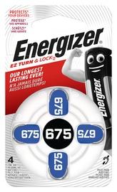 DZIRDES BATERIJAS ENERGIZER 675 ZINC AIR BL4 1.4V