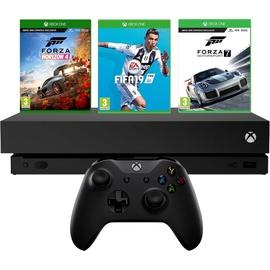 Microsoft Xbox One X 1TB +  Forza Horizon 4 + Forza Motorsport 7 + Fifa 19