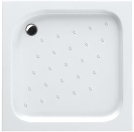 Schaedler Economic Shower Tray 90x16x90 Quad White
