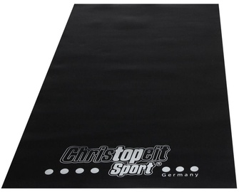 Christopeit Protective Floor Mat Black 200x100x0.3cm