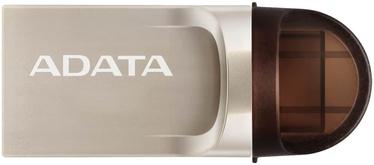 A-Data UC370 64GB USB-A 3.1 / USB-C OTG Pink Gold