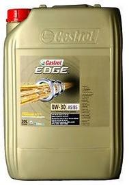 Машинное масло Castrol Edge Titanium FST A3/B4 0W - 30, синтетический, для легкового автомобиля, 20 л