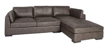 Home4you Malena Corner Sofa Right Side Brown