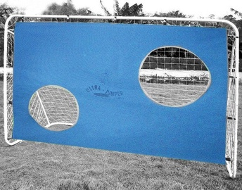 Worker Football Goal With Target 180x60x121cm