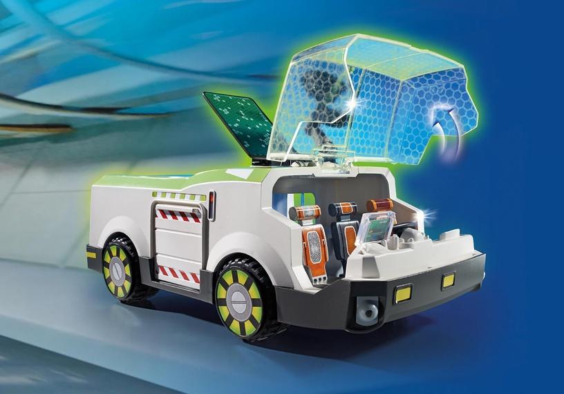 Playmobil Super 4 Techno Chameleon With Gene 6692