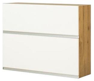 Bodzio Monia Upper Split Cabinet 90 White/Brown