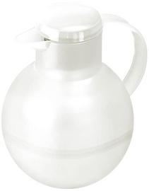 Emsa Thermos Mug For Tea Solera 1,0L Transparent White
