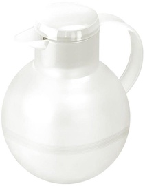 Emsa Thermos Mug For Tea Solera 1,0L Transparent White