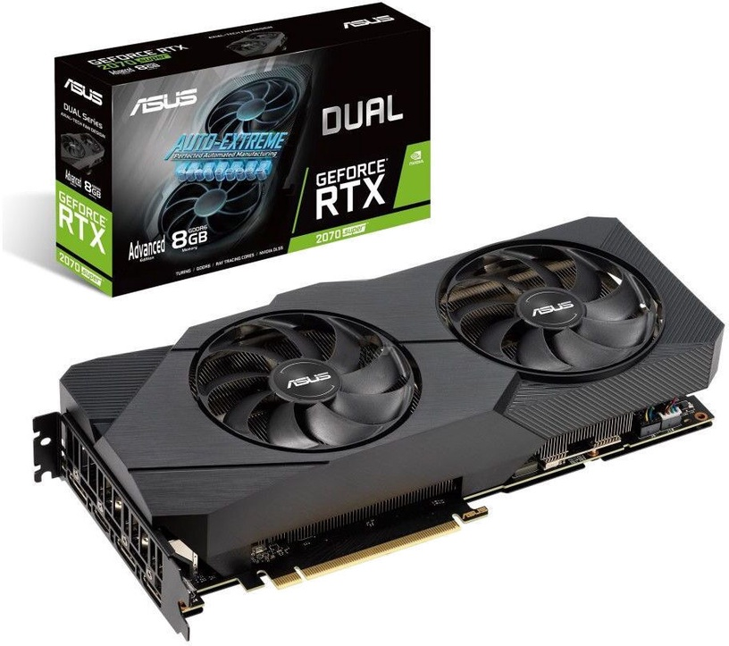 Asus Dual GeForce RTX 2070 Super EVO Advanced 8GB GDDR6 PCIE DUAL-RTX2070S-A8G-EVO