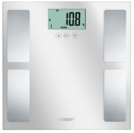 Vitammy Horizon Bathroom Scale Silver