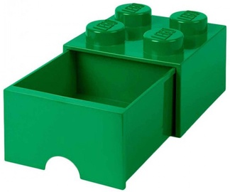 LEGO Storage Brick Drawer 4 Green