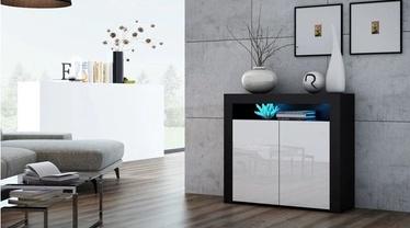 Pro Meble Milano PKC 2D With Light Black/White