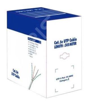 Savio Patch Cable UTP CAT5e 305m Grey