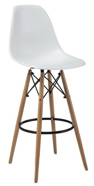 Baro kėdė Signal Meble Enzo H-1 White, 1 vnt.
