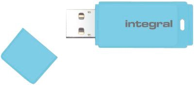 USB atmintinė Integral Pastel Blue, USB 2.0, 16 GB