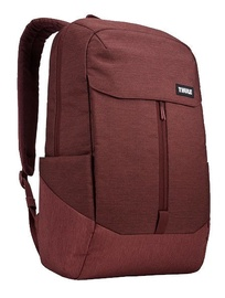 "Thule Lithos 15.6"" 20L Laptop Backpack Dark Burgundy"