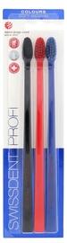 Swissdent Colors Soft Medium Toothbrush 3pcs