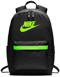 Nike Backpack Hernitage BKPK 2.0 BA5879 010 Black/Green