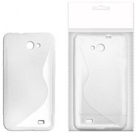 KLT Back Case S-Line Nokia 305 Asha Silicone/Plastic White/Transparent