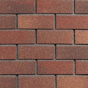 Technonicol Hauberk Bitumen Facade Tile Terracotta