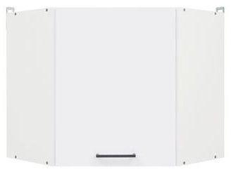 Black Red White Kitchen Upper Cabinet Junona Line GNWU/57 LP White