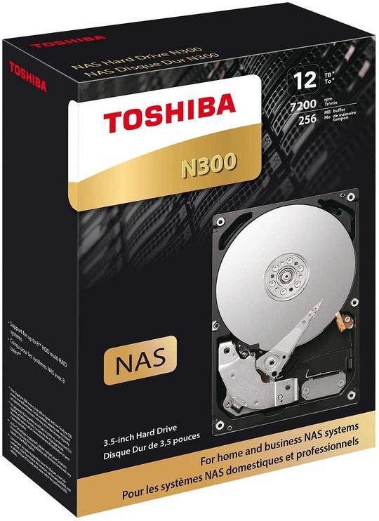 Toshiba N300 7200RPM SATA 256MB Series 12TB