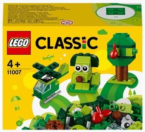 Конструктор LEGO Classic Creative Зелёный набор для конструирования 11007, 60 шт.