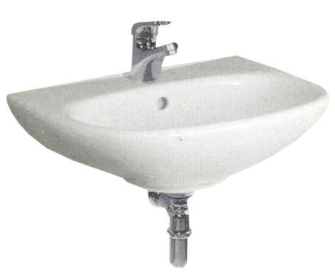 Раковина Jika Zeta, керамика, 500 мм x 400 мм x 190 мм