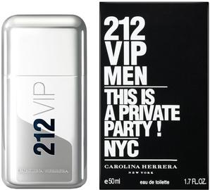 Tualetes ūdens Carolina Herrera 212 VIP Men 50ml EDT