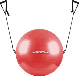 inSPORTline Gymnastic Ball With Grips 55cm Red